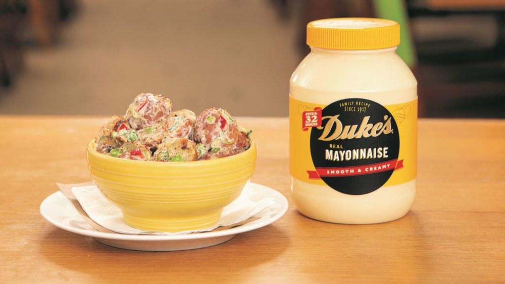 Image of Bacon and Mushroom Potato Salad