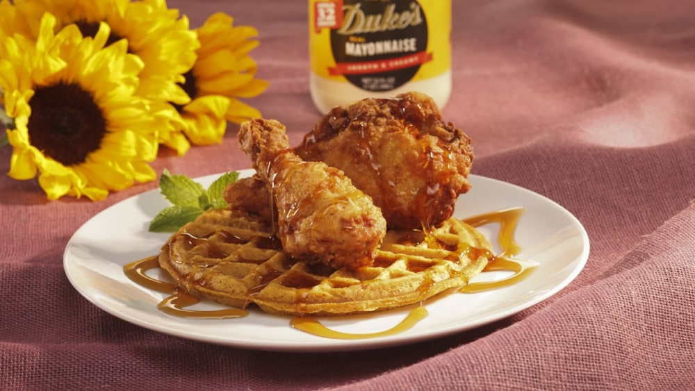 Image of Chicken and Sweet Potato Waffles