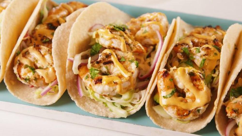 Image of Cilantro Lime Shrimp Tacos
