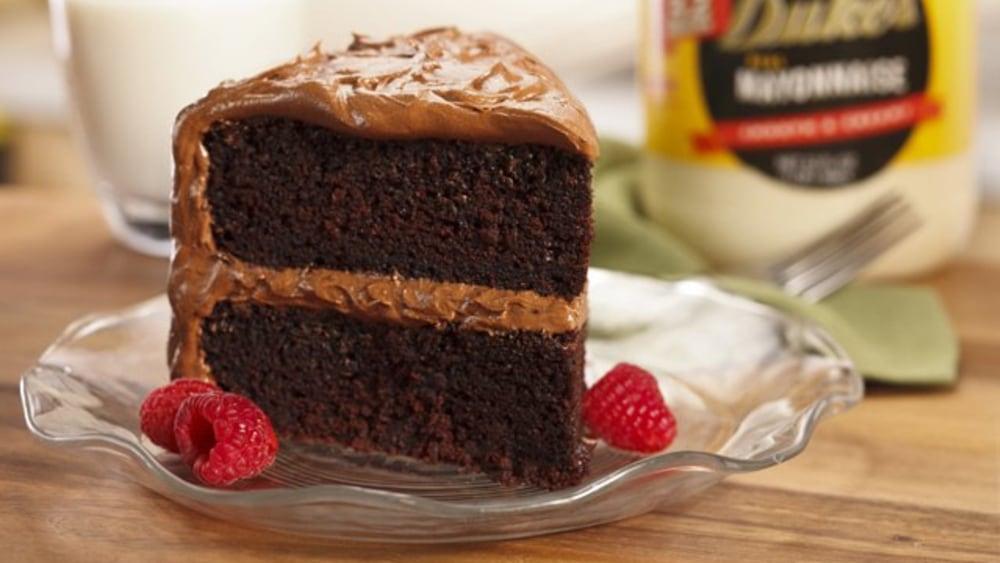 Image of Duke's Chocolate Mayonnaise Cake