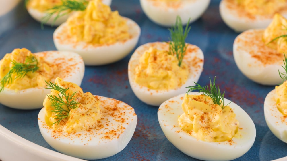 Image of Dilly Deviled Eggs