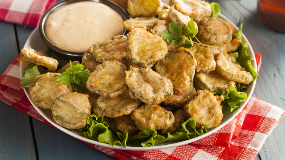 Image of Fried Pickles with Cajun Dipping Sauce
