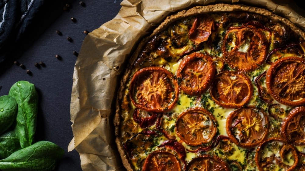 Image of Helena's Tomato and Cheese Pie