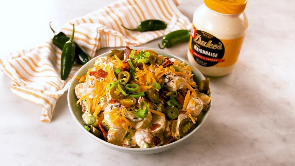 Image of Jalapeno-Cheddar Potato Salad