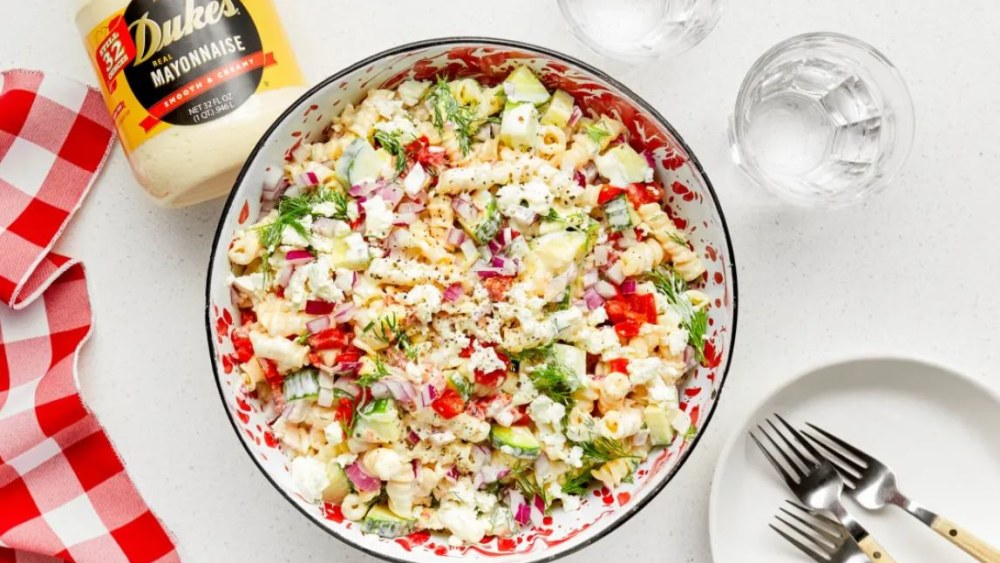 Image of Lemon Feta Pasta Salad