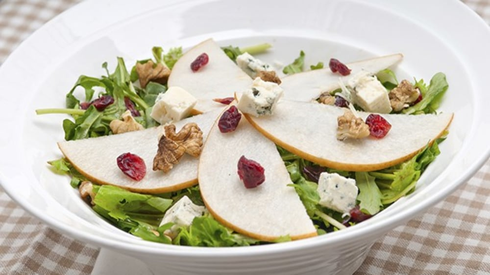 Image of Leftover Thanksgiving Salad with Creamy Olive Oil Dressing