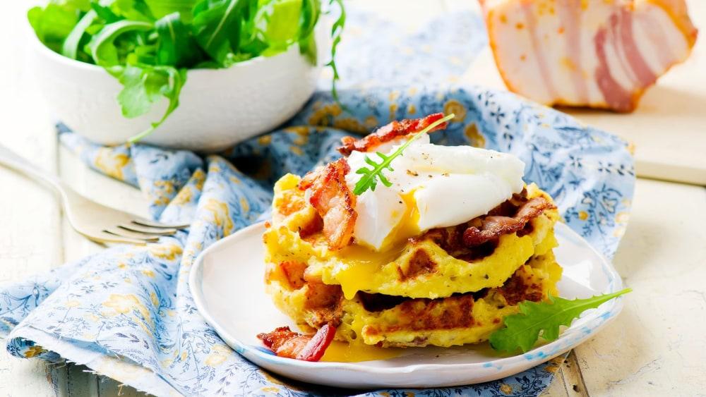 Image of Mashed Potato Waffle Bites