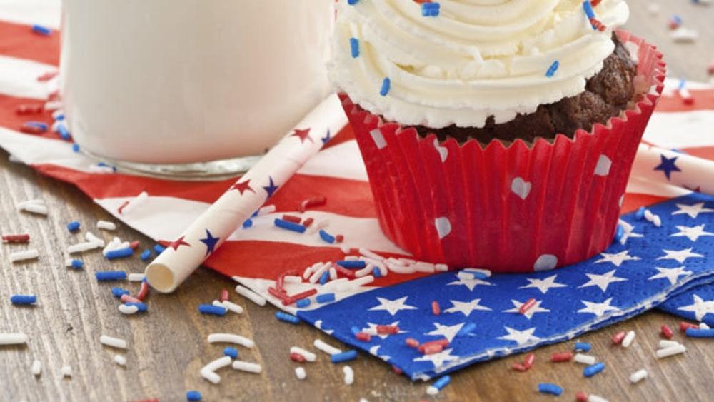 Image of Patriotic Cupcakes