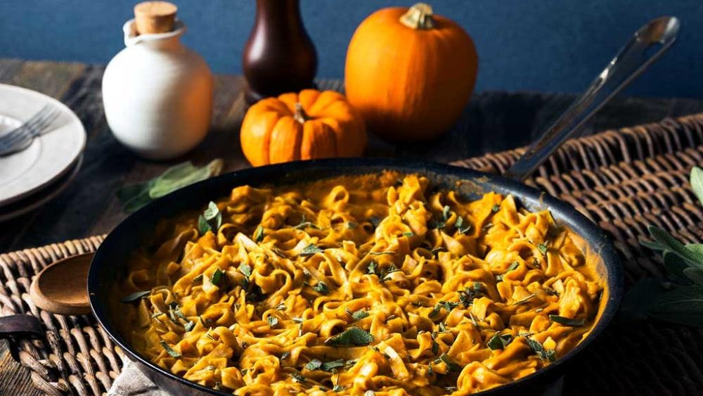 Image of Pumpkin Parmesan Pasta