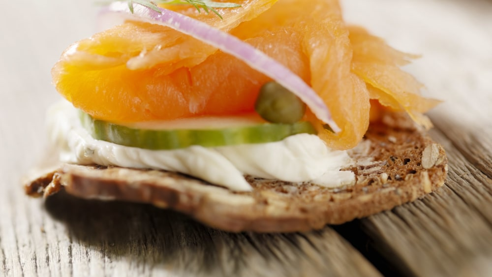 Image of Smoked Salmon Canapes