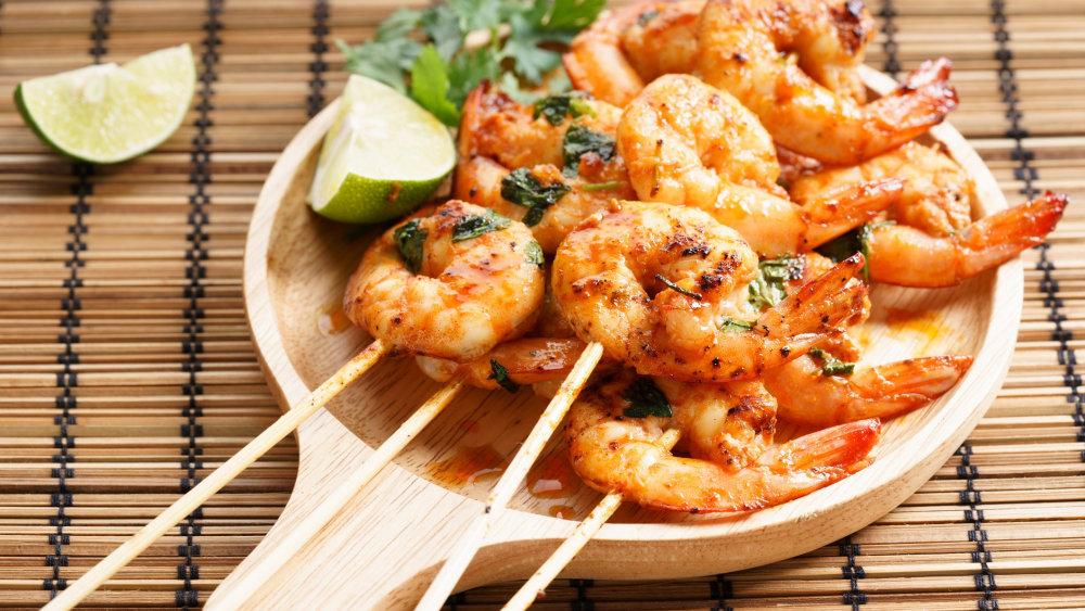 Image of Sriracha Shrimp Kebabs