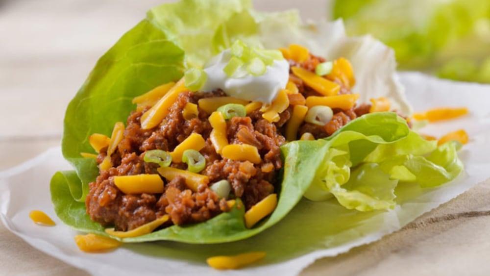Image of Tacos con Legumbres (Tacos Low Carbs)