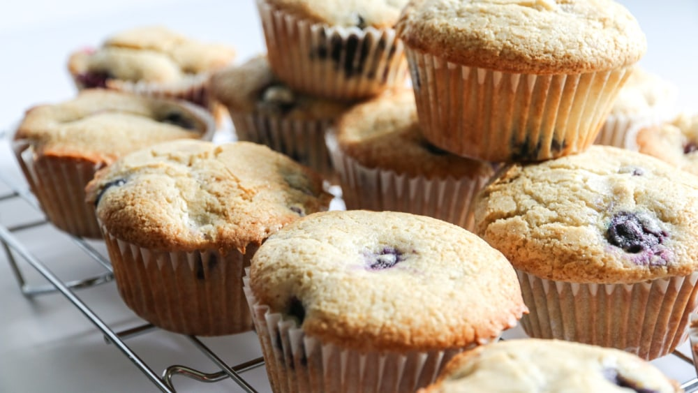Image of Gluten Free Blueberry Muffins