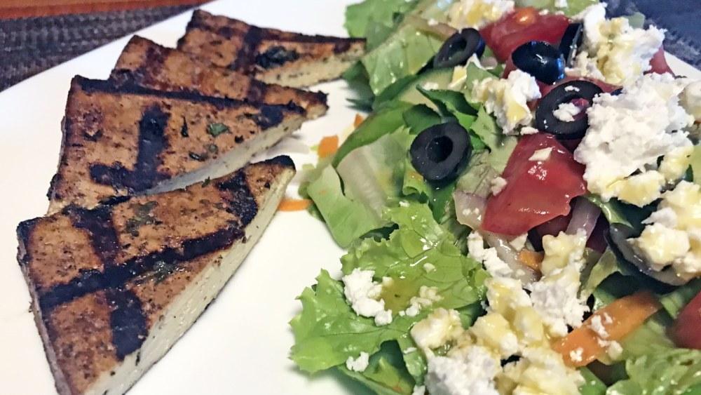 Image of Greek Tofu Steak