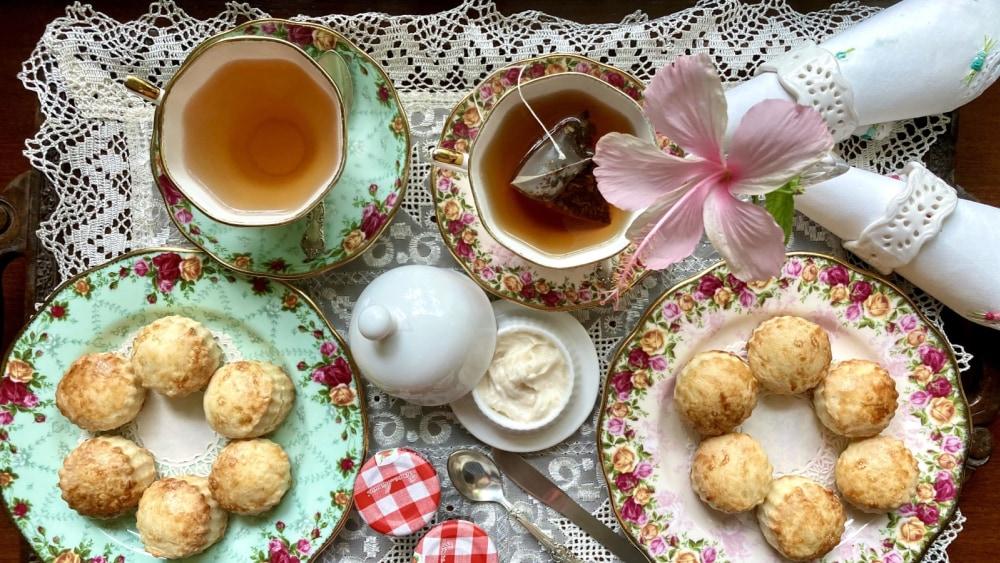 Image of English Cream Tea & Scones