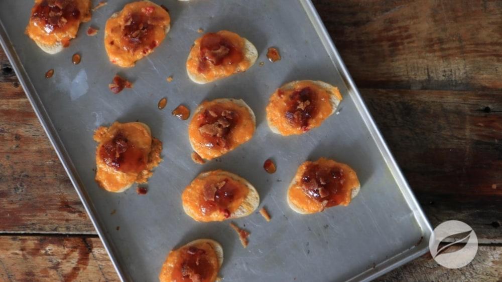 Image of Pimiento Cheese Crostini