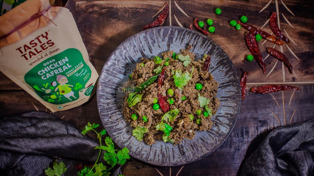 Image of Goan Soya Keema Cafreal Recipe ( Chicken cafreal paste )