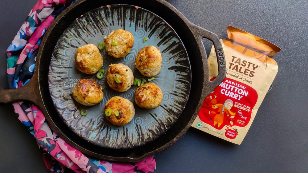 Image of Amritsari Meatballs Recipe