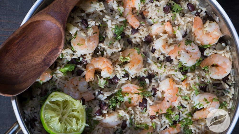 Image of Cilantro Lime Shrimp Rice Bowls