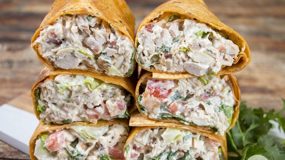 Image of Chicken Bacon Ranch Wraps