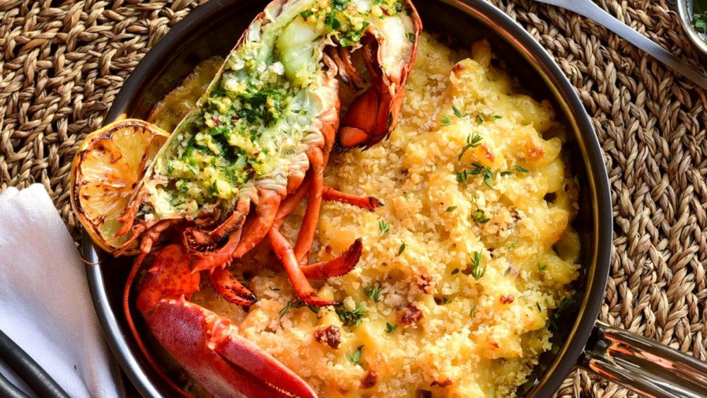 Image of Grilled Lobster Mac & Cheese