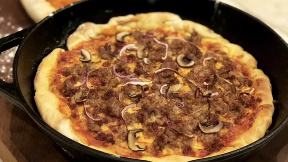 Image of Bacon Skillet Pizza