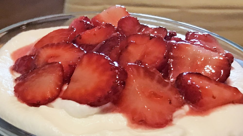 Image of Strawberry Trifle