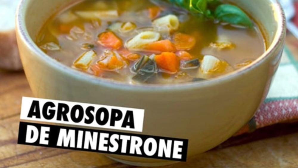Image of Sopa de Minestrone #Agrosopa