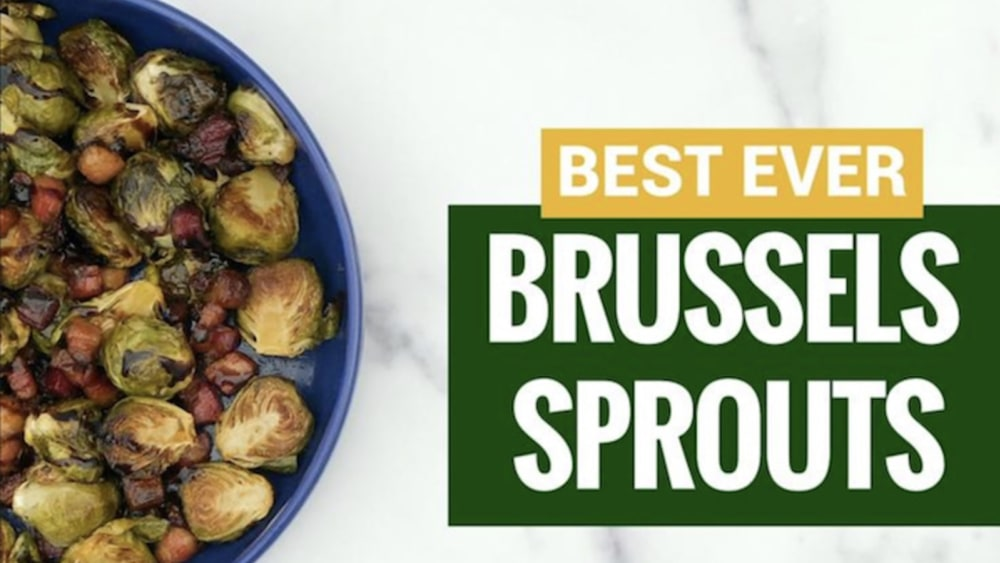 Image of  Brussels Sprouts with Smoked Lardons