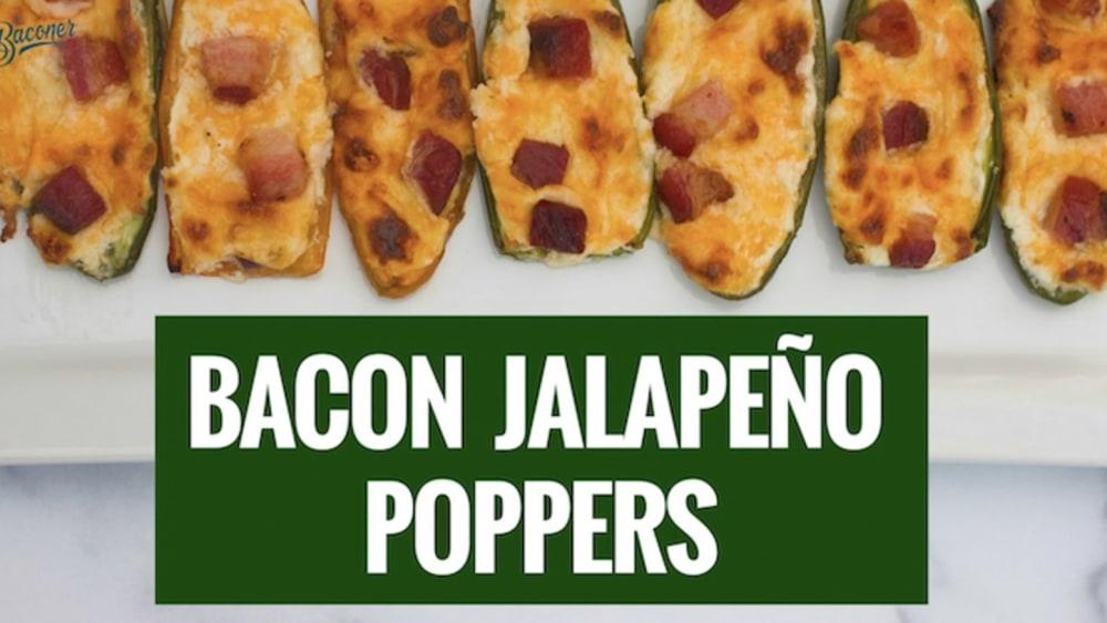 Image of Bacon Jalapeño Poppers