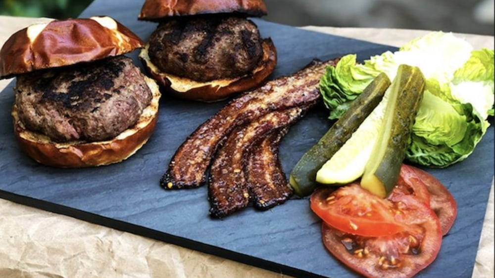 Image of Built-In Bacon Burger