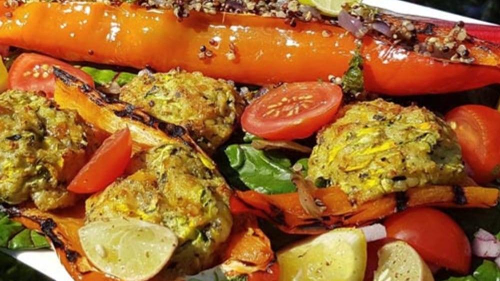 Image of Vegetarian Gluten Free Zucchini Carrot Tots
