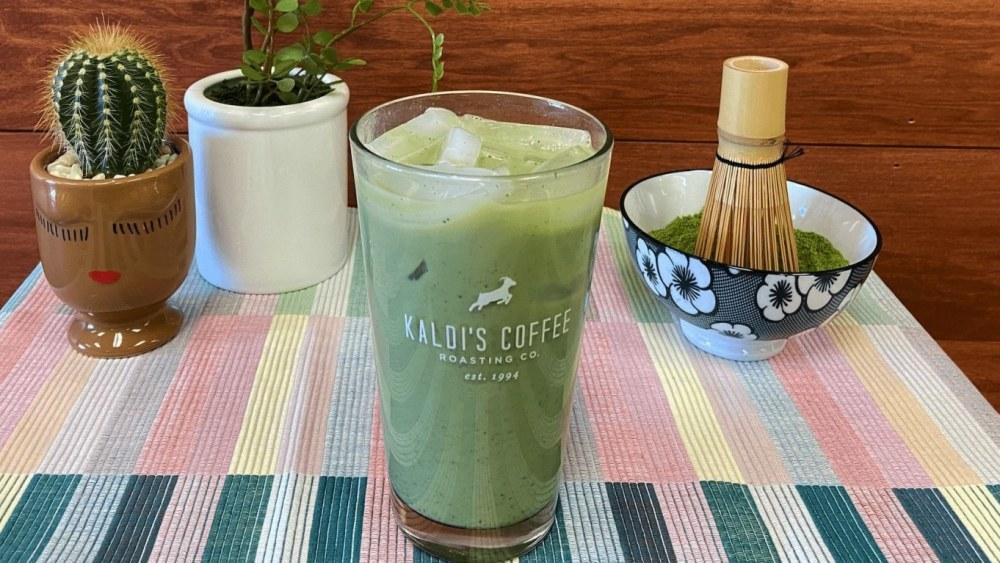 Image of Iced Matcha Latte Recipe