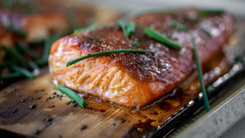 Image of Cedar Plank Salmon