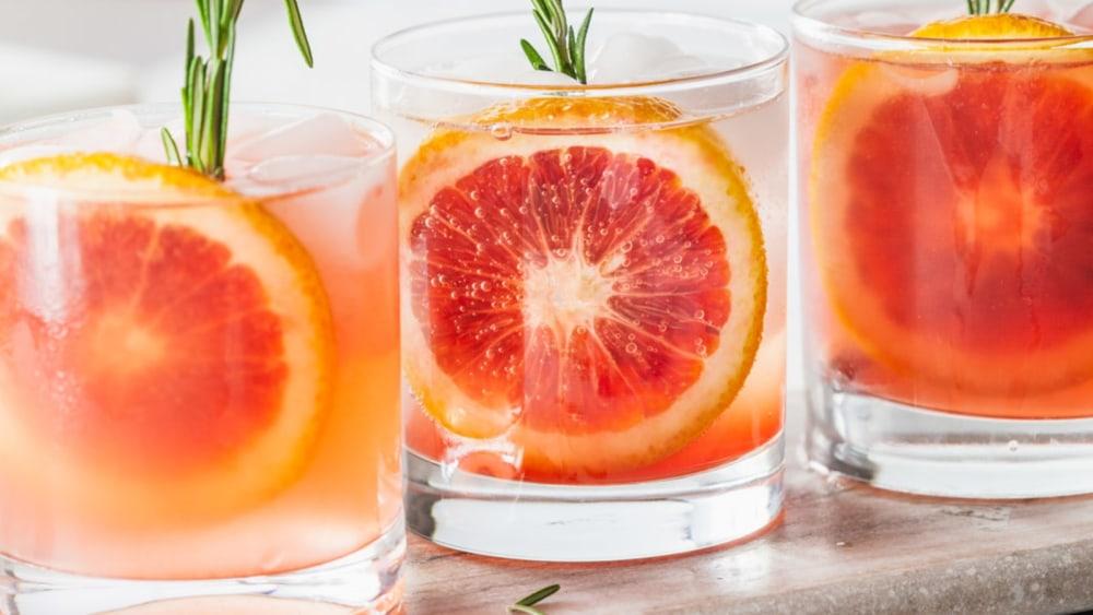 Image of Vanilla Bean & Blood Orange Spirit-Possible Cocktail
