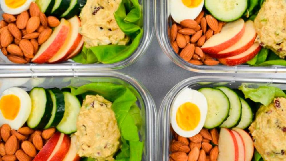 Image of Tuna Salad Recipe with Turmeric