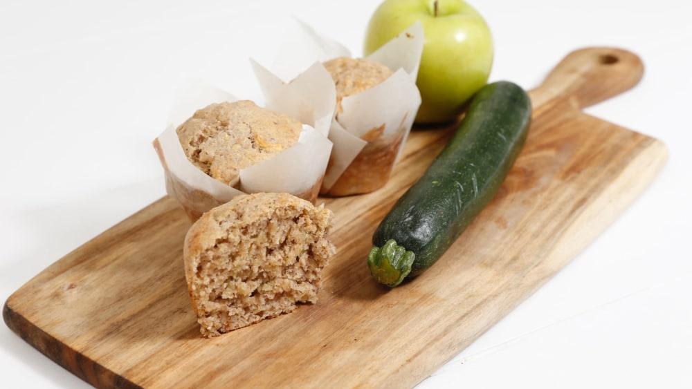 Image of Original Zucchini Apple Muffins