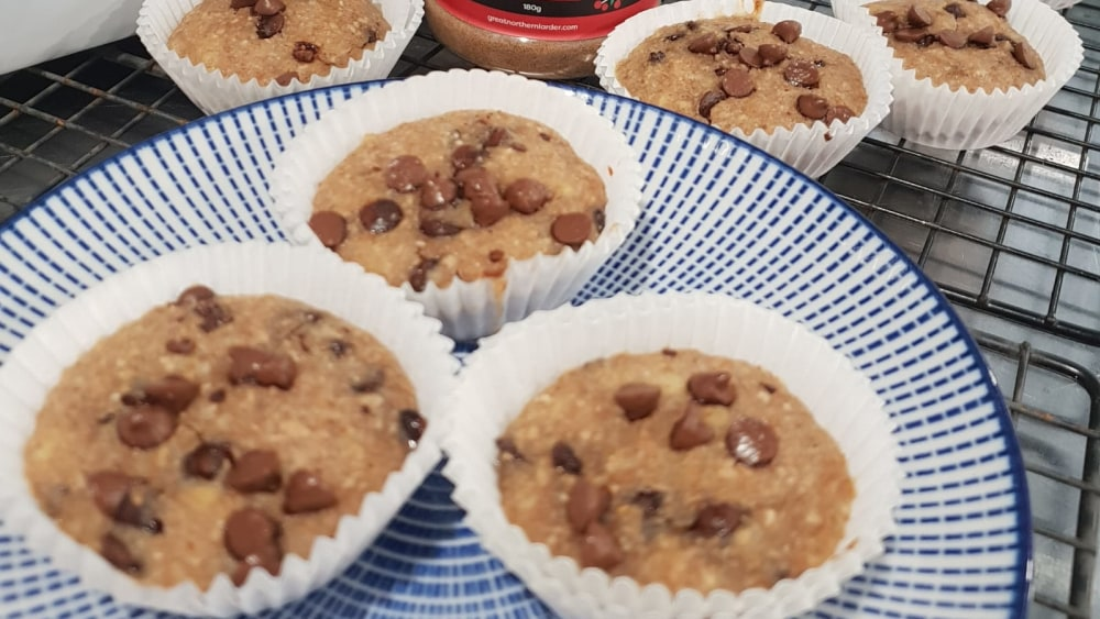 Image of Spiced Banana Choc Chip Cupcakes