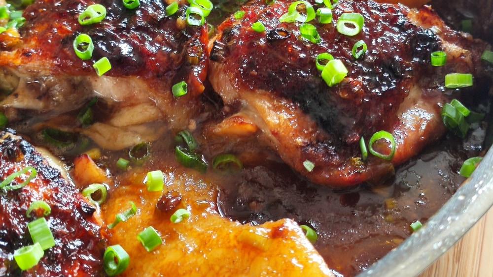 Image of Pineapple Glazed Chicken