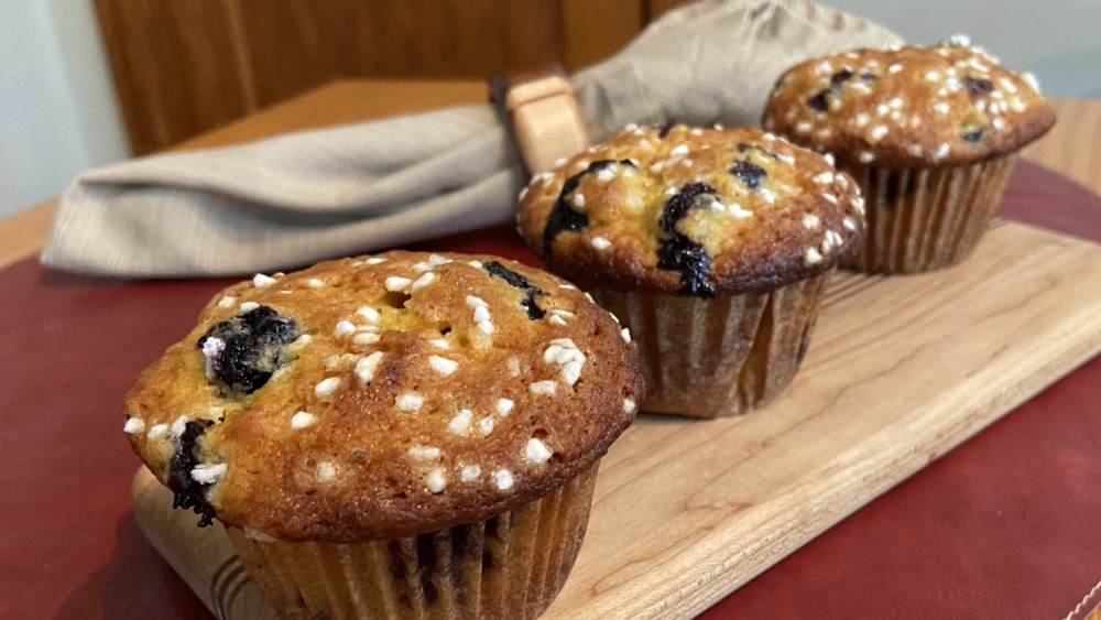 Image of Biancolilla Blueberry Lime Muffins
