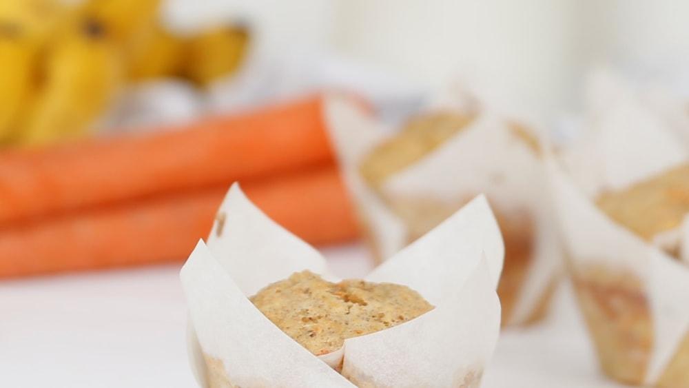 Image of Original Carrot Banana & Pecan Muffins