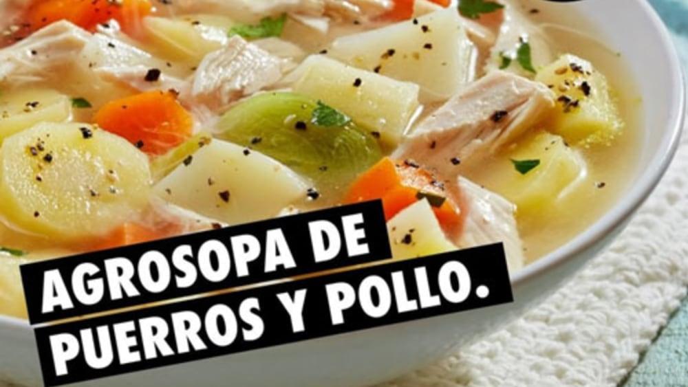 Image of Sopa de Puerro y Pollo #Agrosopa