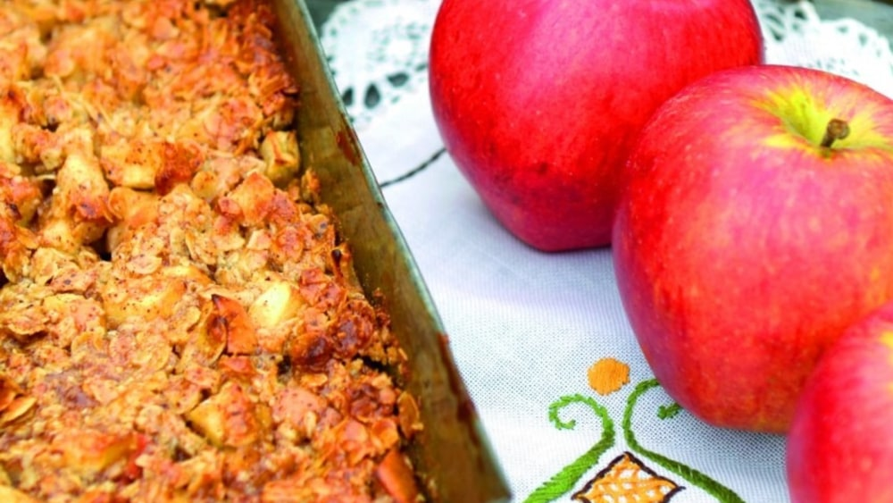 Image of Almond Butter Apple Crumble