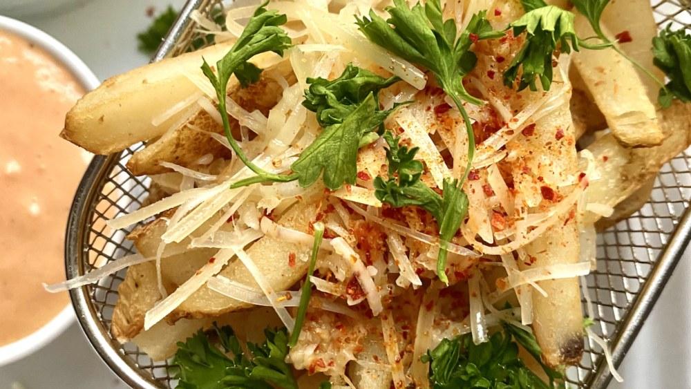 Image of Ajika Garlic Parmesan Fries
