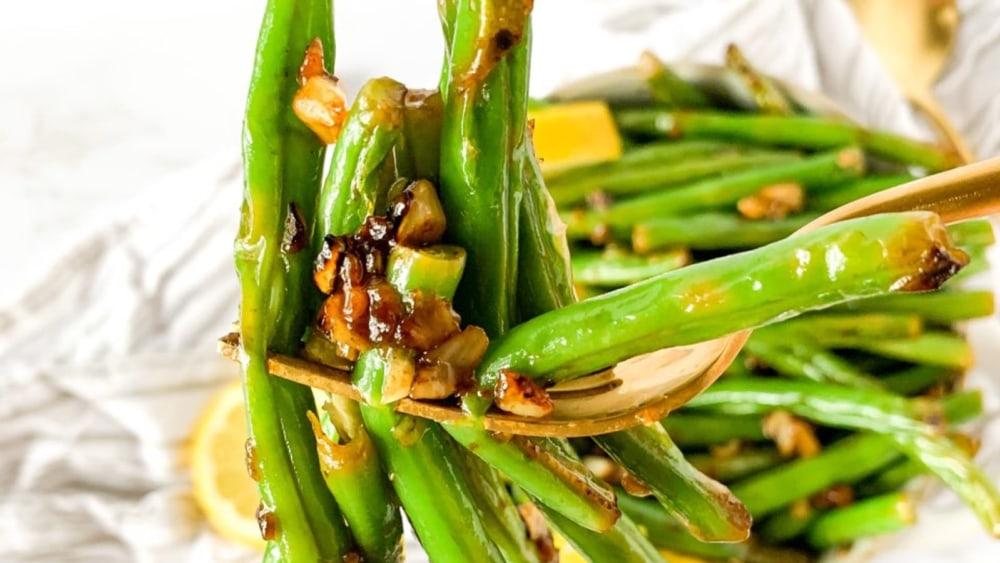 Image of Lemon Garlic Green Beans