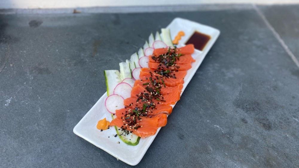 Image of Sockeye Salmon Sashimi Platter