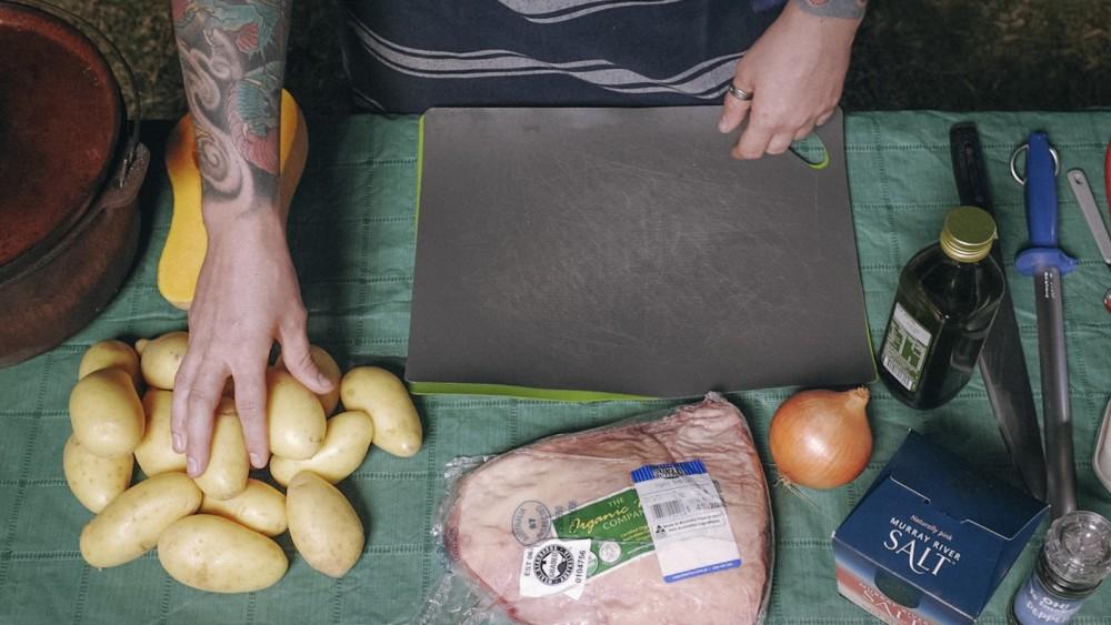 Image of Cook 'Em Up Reverse Seared Rump Cap