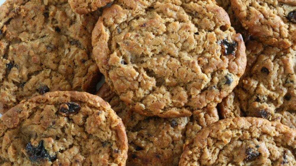 Image of Vanishing Oatmeal Raisin Cookies