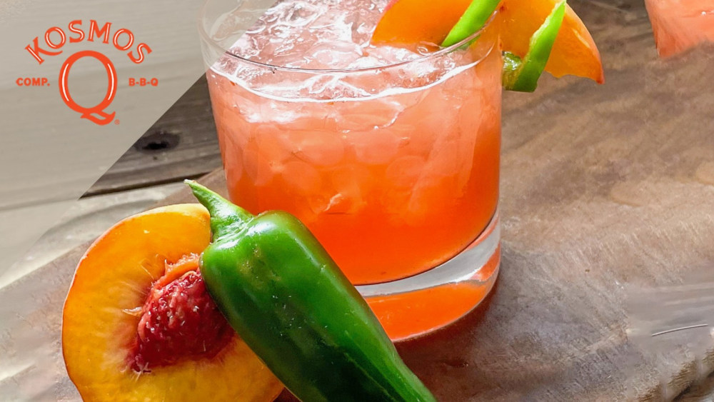 """Image of """"The Peach"""" Summer Cocktail Recipe"""