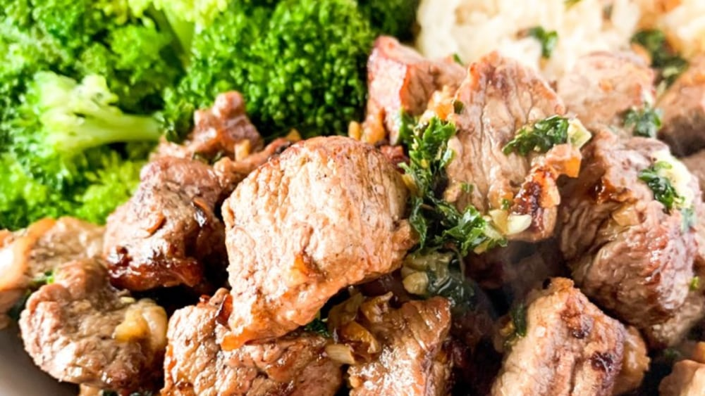 Image of Garlic Butter Steak Bites
